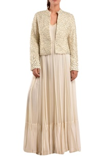 white-gown-with-embroidered-jacket