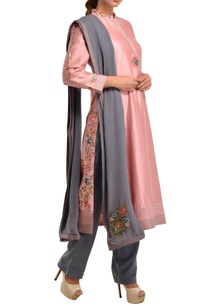 pink-chanderi-silk-kurta-set