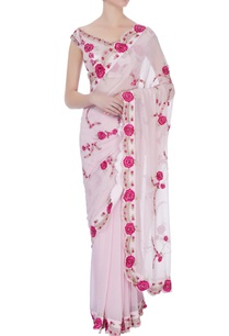 pink-victorian-rose-embroidered-sari-blouse
