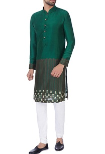 green-digital-printed-kurta-churidar