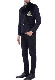 black-zardosi-embroidered-nehru-jacket