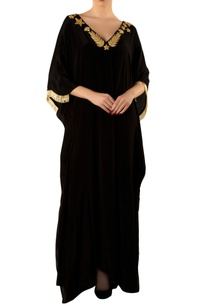 black-kaftan-with-gold-embellishments