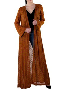 brown-crepe-silk-open-jacket