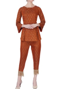 orange-banarasi-brocade-top-pants