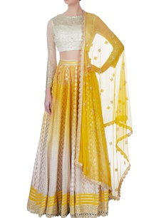 yellow-omber-effect-lehenga-set