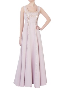 light-pink-crepe-gown