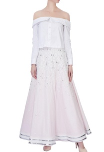 pink-linen-skirt-with-can-can-layer