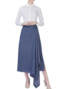 blue-denim-drop-skirt
