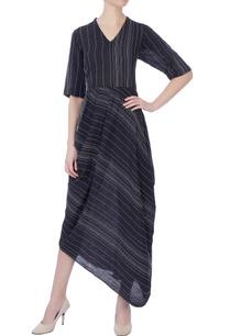 black-thread-embroidered-dress