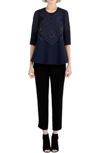ink-blue-embroidered-top