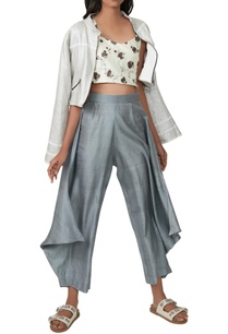 white-crop-top-with-jacket-flared-pants