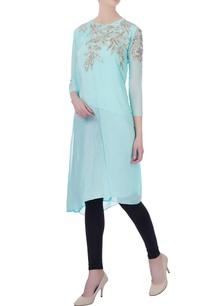 light-blue-aari-embroidered-kurta