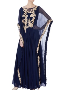 blue-georgette-double-layer-kaftan