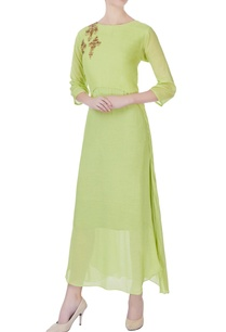 lime-green-mulmul-kurta