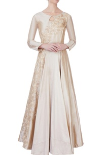 beige-flared-embroidered-silk-gown