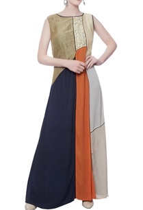 multicolored-long-dress