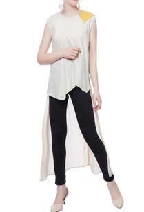 white-triangle-high-low-top