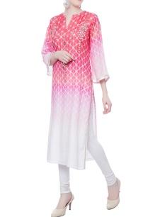 pink-white-mirror-handwork-kurta