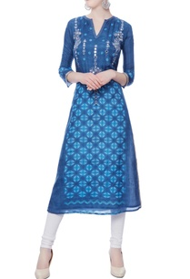 blue-mirror-embroidered-kurta