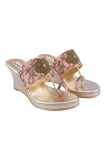 pink-embellished-bridal-wedges