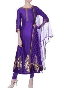 purple-zardozi-embroidered-kurta-set