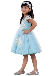 sky-blue-taffeta-dress