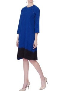 blue-shaded-embroidered-dress