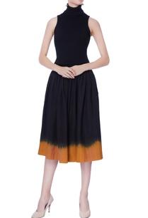 black-omber-effect-skirt