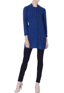 blue-striped-tunic