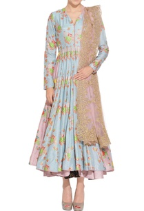blue-pink-floral-anarkali-set