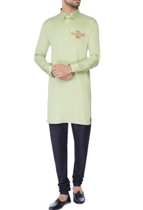 mint-green-embroidered-classic-kurta