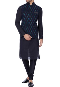 navy-blue-printed-nehru-jacket