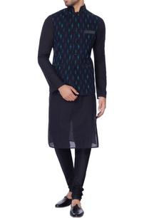 navy-blue-printed-nehru-jacket
