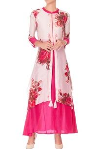 onion-pink-floral-print-kurta