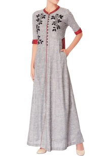 grey-embroidered-maxi-dress