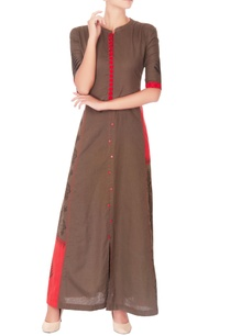 light-brown-embroidered-maxi-dress