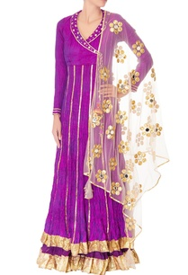 purple-double-layer-anarkali-with-dupatta