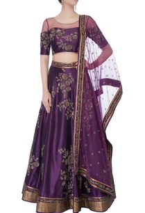 purple-raw-silk-lehenga-set