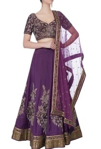 purple-sequin-embellished-lehenga-set
