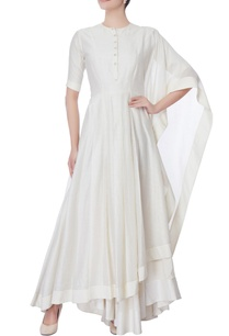 white-anarkali-with-attached-drape