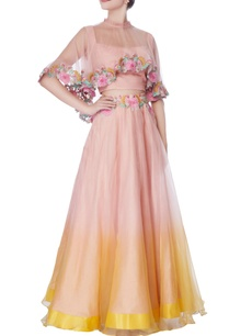 pink-yellow-ombre-lehenga-set