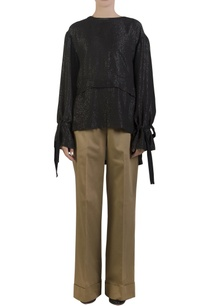 black-poncho-with-self-tie-belt