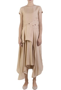 beige-asymmetric-overlap-style-dress