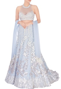 greyish-blue-embroidered-net-lehenga-set