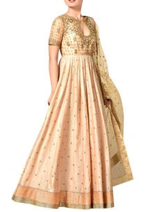 pink-silk-anarkali-set