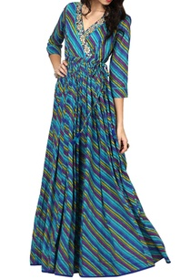 multicolored-crossover-printed-kurta