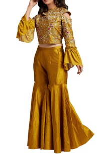mustard-yellow-crop-top-with-sharara-pants