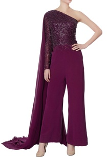 purple-one-shoulder-sequin-jumpsuit