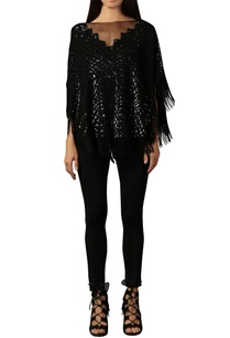 black-sequin-tassel-top