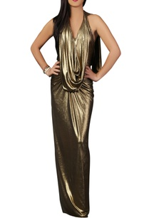 gold-shimmer-draped-gown